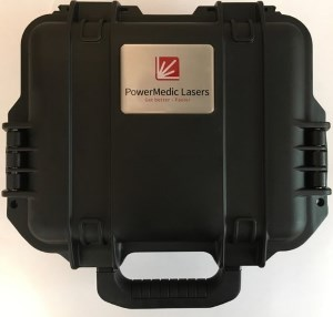 Shockproof PowerLaser Case outside